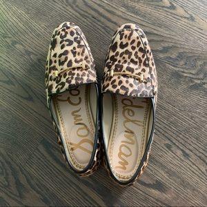 Sam Edelman Lior Leopard Loafer Sz 7.5